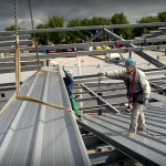 Ukladanie strešných panelov