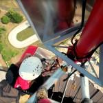Montáž vysielača na výškovom komíne
