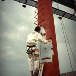 malovanie reklamnej konstrukcie
