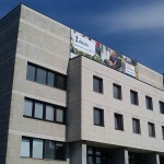 realizácia Bannera (PVC plachty) na streche budovy - BA