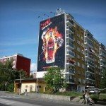 Realizácia reklamnej plachty CocaCola BB