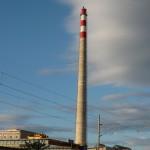 realizacia vysielača na výškový komín