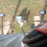 vyťahovanie PVC plachty (Bannera) na konštrukciu megaboardu
